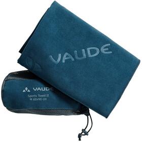 VAUDE Sports II Towel size M, blue sapphire